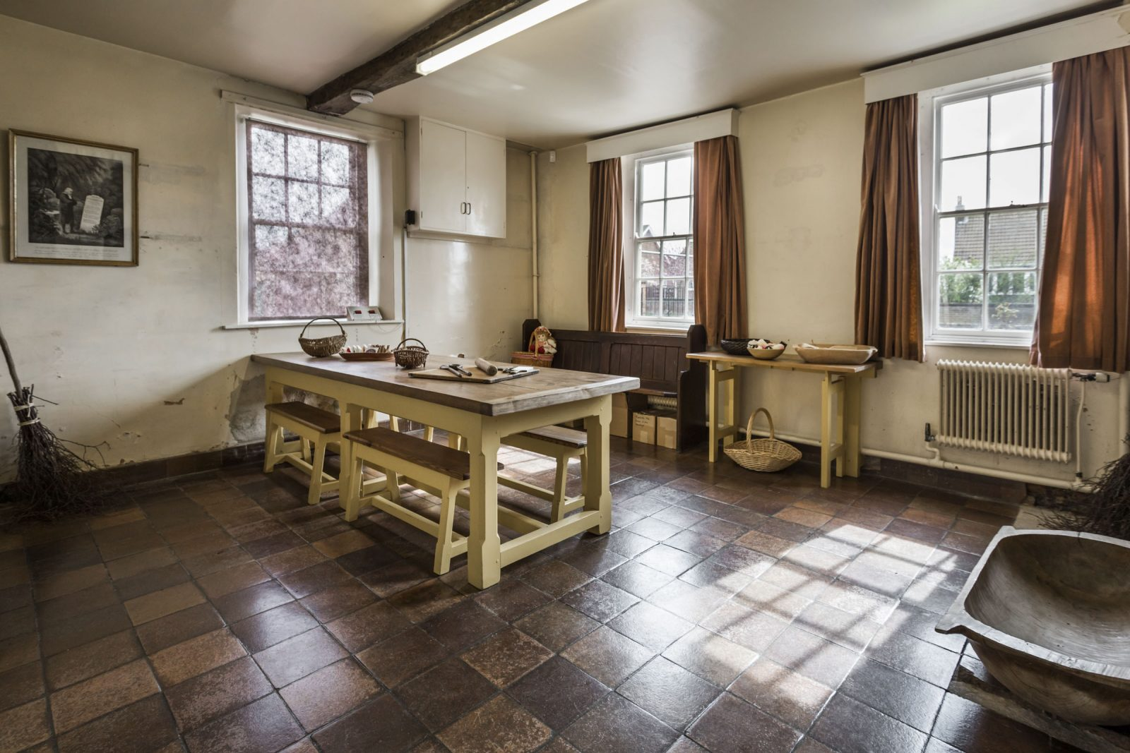 Schools classroom/kitchen