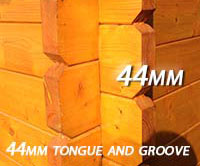 44mm tongue and groove