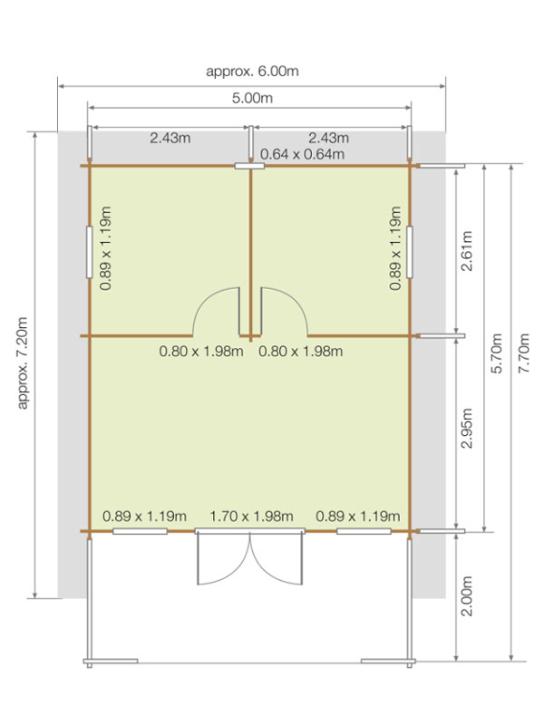 Lillevilla 220 Floor plan